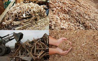 Утилизация древесных отходов образующихся в результате деревообработки