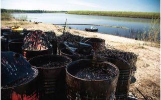 Как утилизируют нефтесодержащие отходы