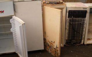 Утилизация старого холодильника за деньги