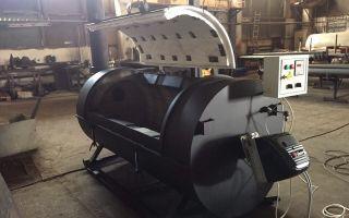 Крематор для утилизации трупов животных