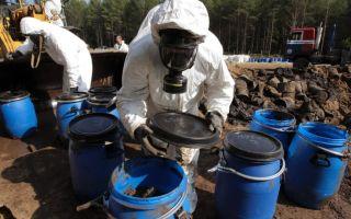 Химические отходы и их утилизация