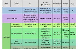 Умеренный климатический пояс россии – температура, осадки, территория