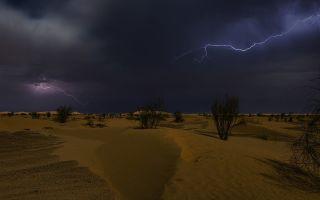 Дожди в пустыне | почему в пустынях не бывает дождей