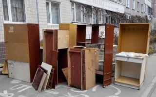 Как утилизировать мебель