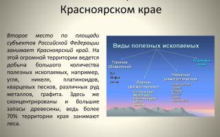 Экологические проблемы красноярского края