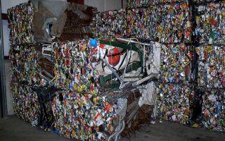 Переработка отходов алюминия и алюминиевых банок