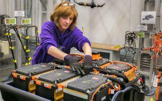 Фабрика производства батарей для электромобилей