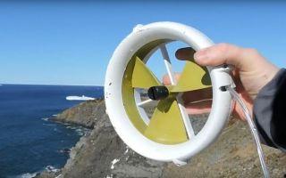 Портативная турбина