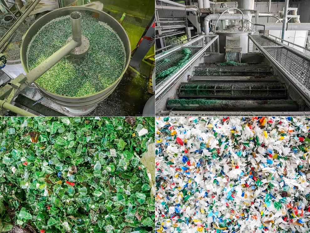 Процессы переработки пластиковой тары